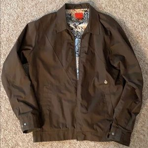 Large Volcom Brown Jacket. Great condition!